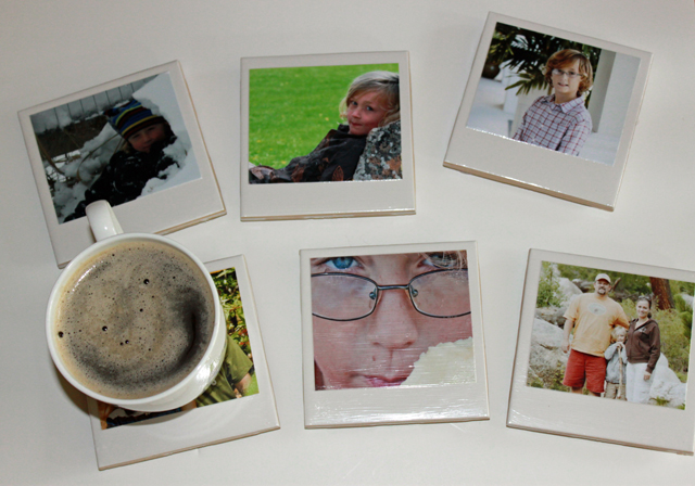 Polaroid coasters 72