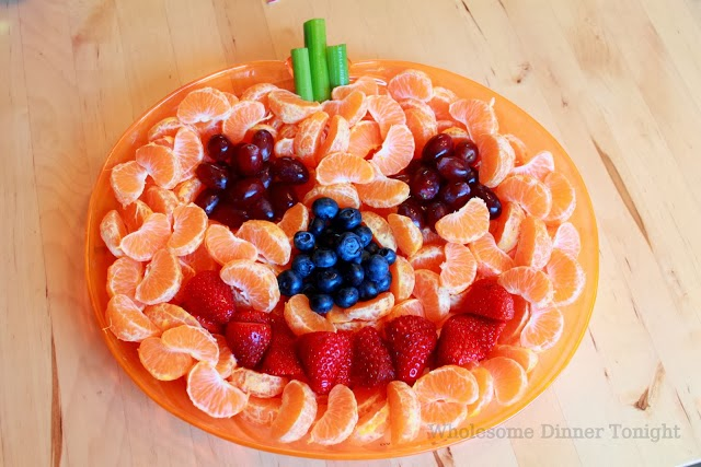 fruits and vegetables treat for halloween
