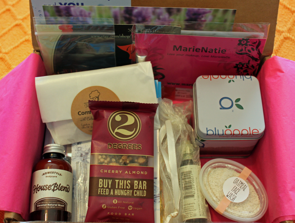 ecocentric mom box, subscription service