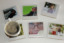 Polaroid-Coasters