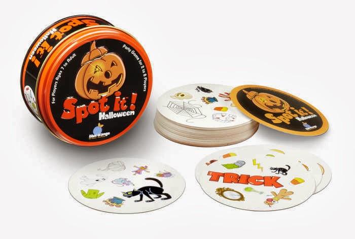 Spot It Halloween Green Halloween Games
